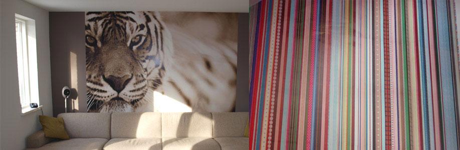 Fotobehang en exclusief behang